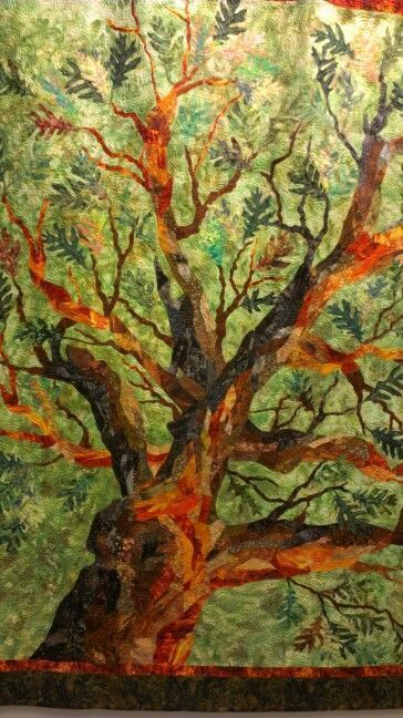 Amazing tree quilt