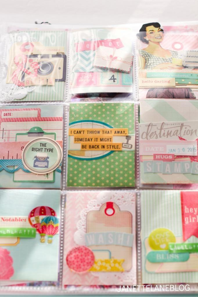 Janette Lane: Pocket Letter Pals
