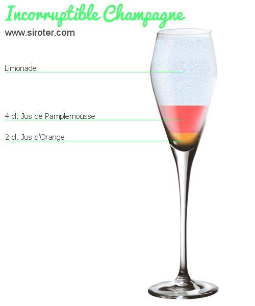 Incorruptible champagne (sans alcool)