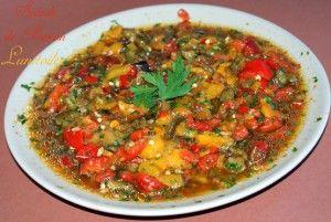 hmiss, salade de poivrons - Amour de cuisine