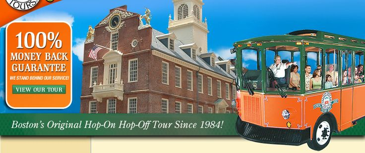 Boston Trolley | Old Town Trolley Tours® ~ Boston's Original Hop-On Hop-Off Tour since 1984