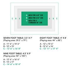 Best 25+ Pool Table Dimensions Ideas On Pinterest | Pool Table Room Size, Pool  Table Games And Pool Table Sizes