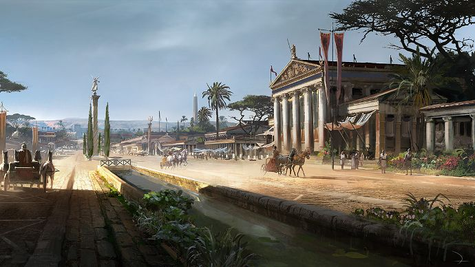 Leak Reveals Assassin S Creed Odyssey Takes Place In Ancient Greece Update Assassins Creed Odyssey Assassins