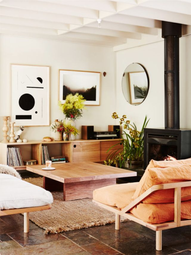 Un vergel luminoso y acogedor, preciosa la vivienda de los propietarios de POP & SCOTT .                                                   ...