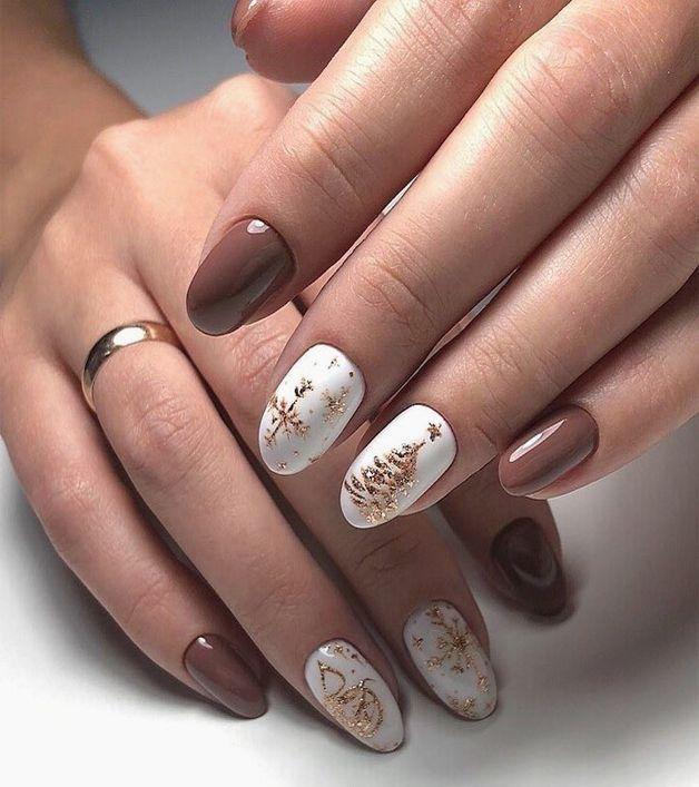 Pinterest Christmas Nails 2020 20 Pinterest Gel Nails Winter in 2020 | Xmas nails, Elegant nails
