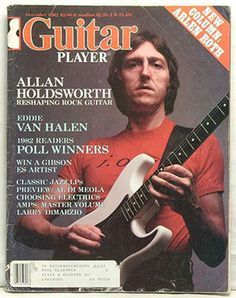 Tribute to Eddie Van Halen's Favorite Guitarist, Allan Holdsworth
