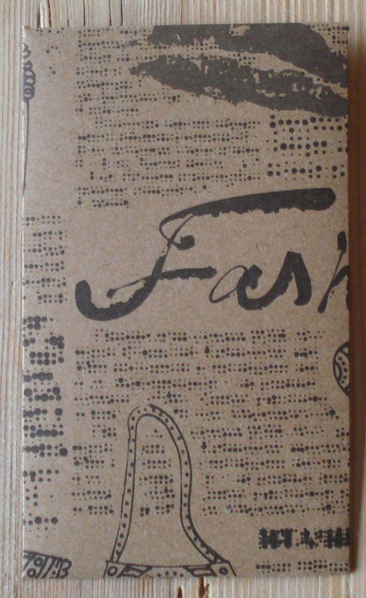 Cadeau envelopjes, set van 5, 10 x 6 cm, papier, handgemaakt, kraft papier, bruin (c) by LabelsAndMore on Etsy