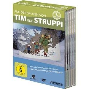 Die DVD-Box »Auf den Spuren von Tim und Struppi«