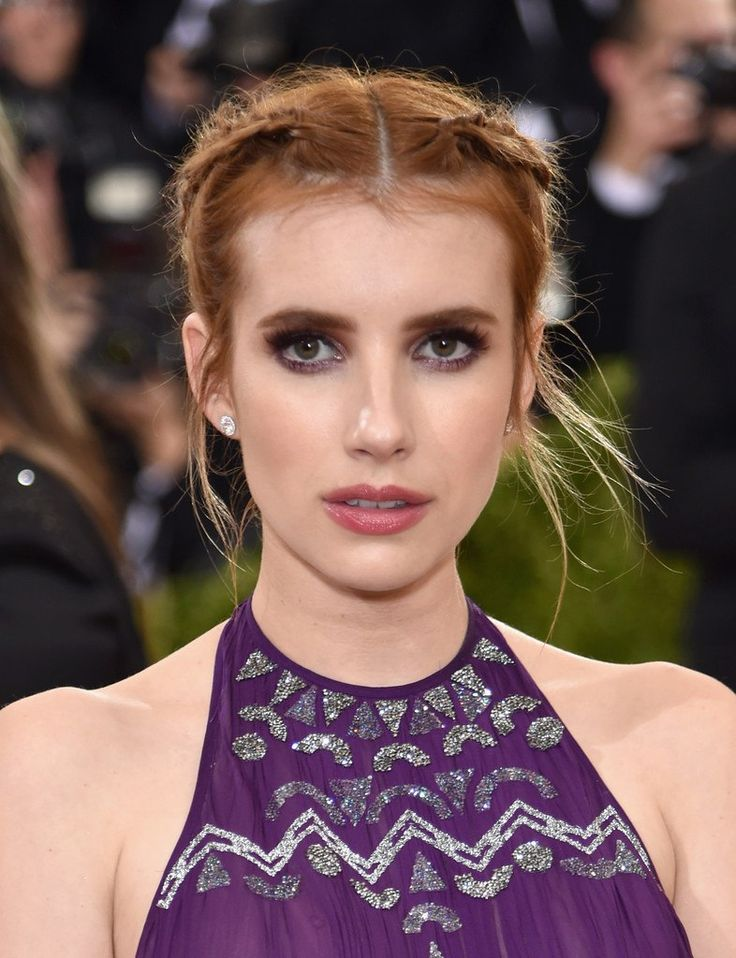 Emma Roberts in Tory Birch at 2016 Met Gala in New York City
