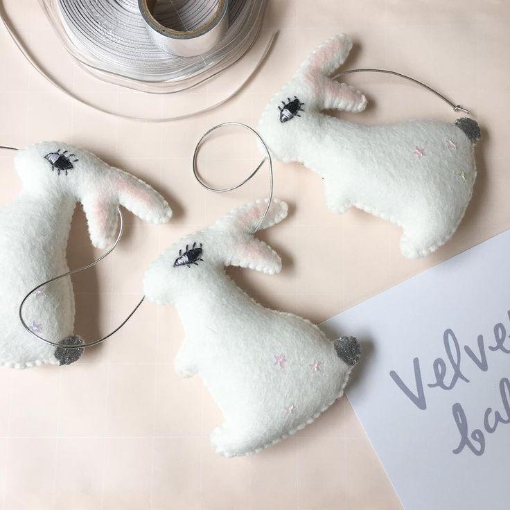Velveteen Babies - Bunny Garland