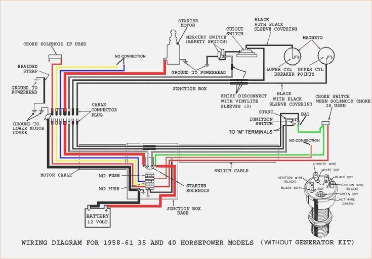 Outboard Engine Wiring Diagram Mercury 40 1979  U2013 Wirdig In 2019