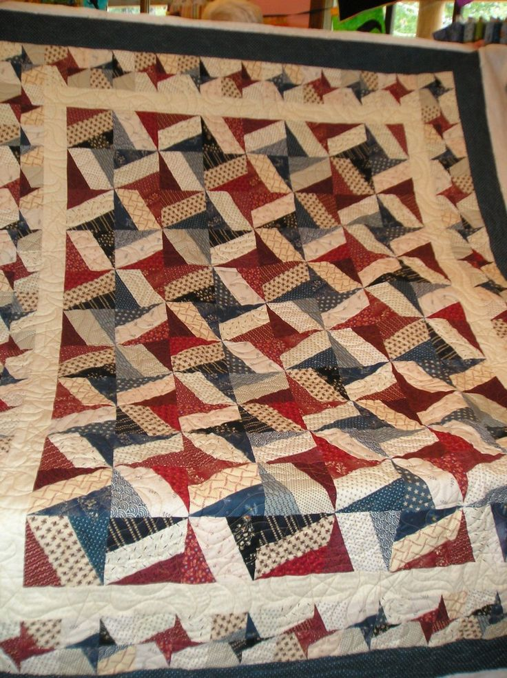 I have only made one string quilt and this may be my next.From Quilts of Valor Program