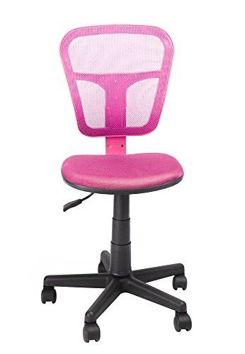 Ergonomical Mid-back Computer Desk Chair for Kids Teens Gaming Studying (Pink)  //Price: $ & FREE Shipping //     #home