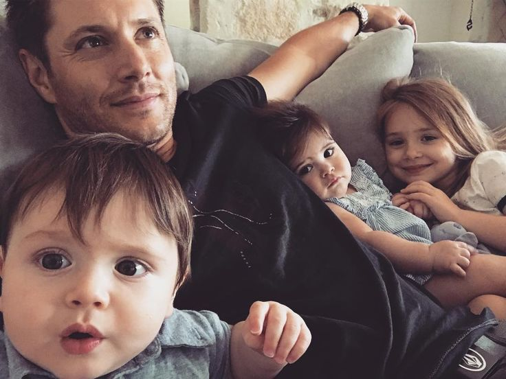 "706.9k Likes, 16.4k Comments - Jensen Ackles (@jensenackles) on Instagram: ""My 8 month old son's selfie skills are scary good. Happy Friday folks."""