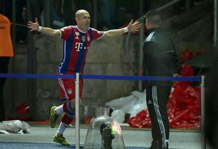FC Bayern München DFB Pokal Finale 2014 Arjen Robben