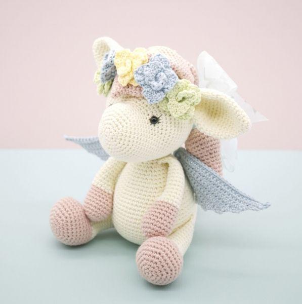 Harriet The Pegasus Amigurumi Pattern | caballito | Pinterest ...