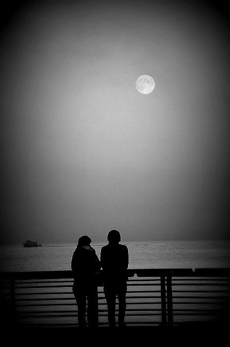 Lunar Romance - #Brianchase   #photography   #printsforsale   #prints   #cards   #giftideas   #art   Available in canvas prints, framed prints, art prints, acrylic prints, metal prints and greeting cards.   Use discount code CVPYAC for 50% off my markup on any purchases for a limited time.