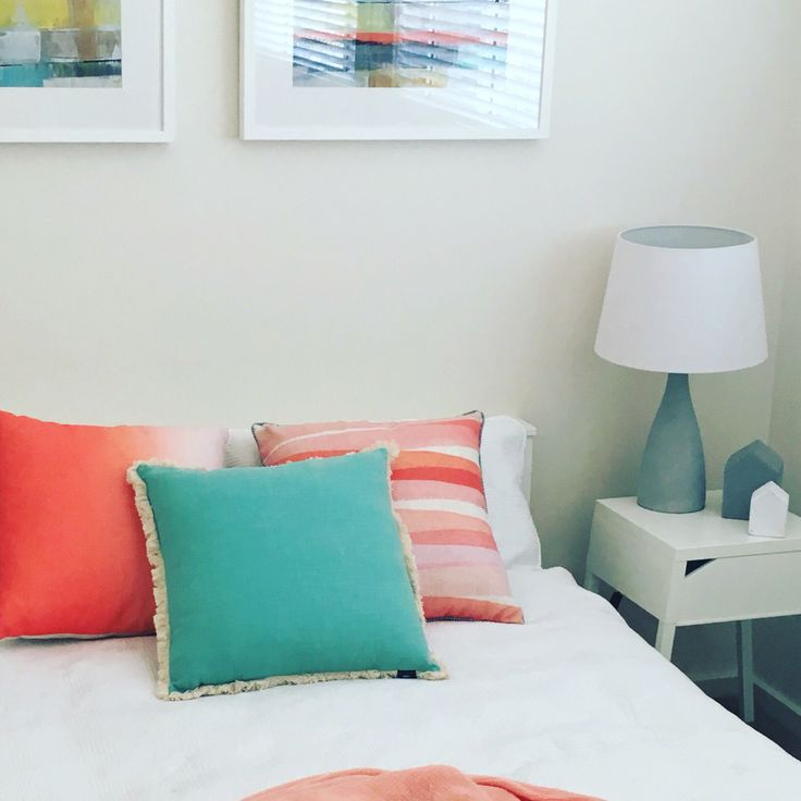 Pop of colour styled by Haven Interiors
