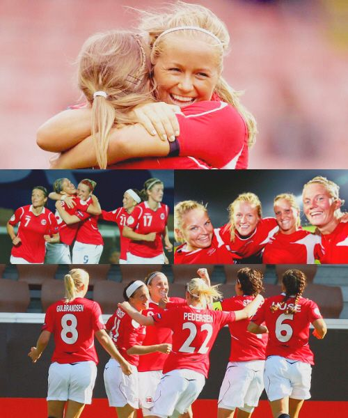 """""""Soccer is the ballet of the masses!""""   ❤ Norway's women's national football team!!"""