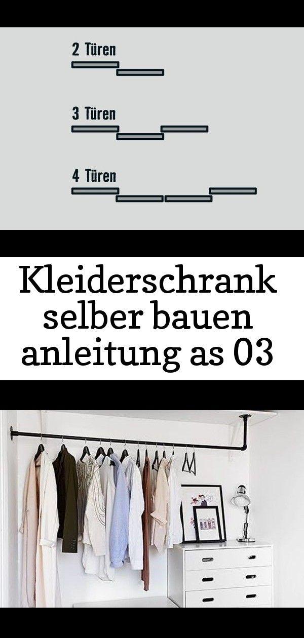 Kleiderschrank Selber Bauen Anleitung As 03 Ankleidezimmer