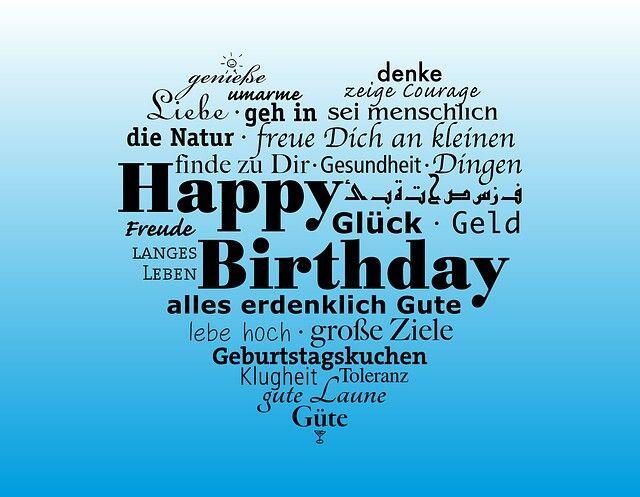 Kostenlose WhatsApp Bilder Mit Glückwünsche Und Sprüchen Zum Geburtstag Für  Freunde Und Kollegen, Für Frauen Und Männer.