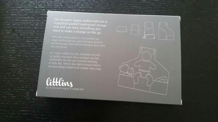 Littlins packaging - back