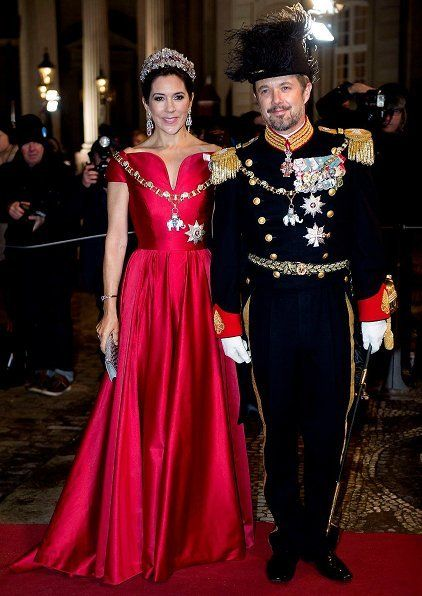 Danish Royals dazzles at New Years reception at Amalienborg Palace Copenhagen hosted by Queen Margarethe 422×596 pixels