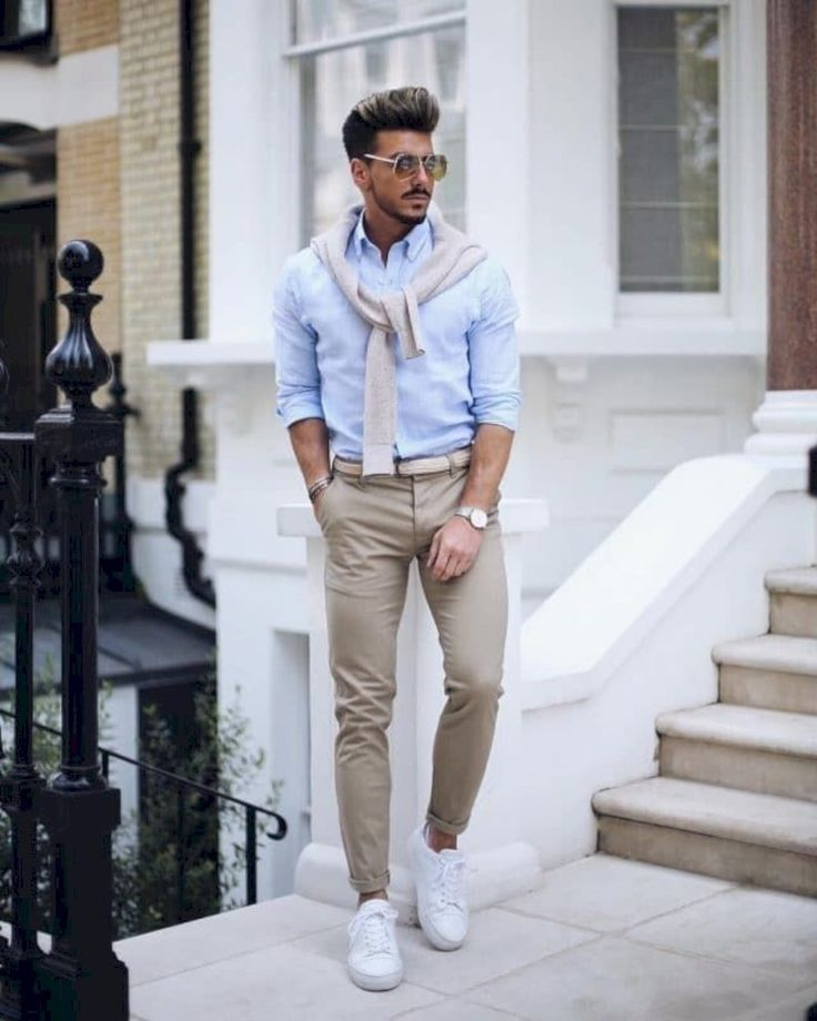 Breathtaking 35 Awesome Casual Office Outfits Ideas for Men 2019 fashioneal.com