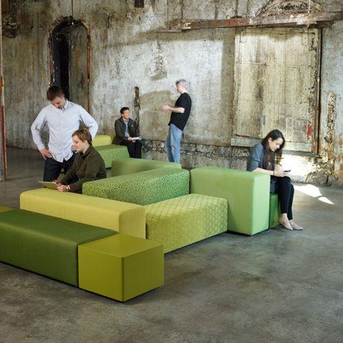 jumble   modular lounge furniture   Keilhauer