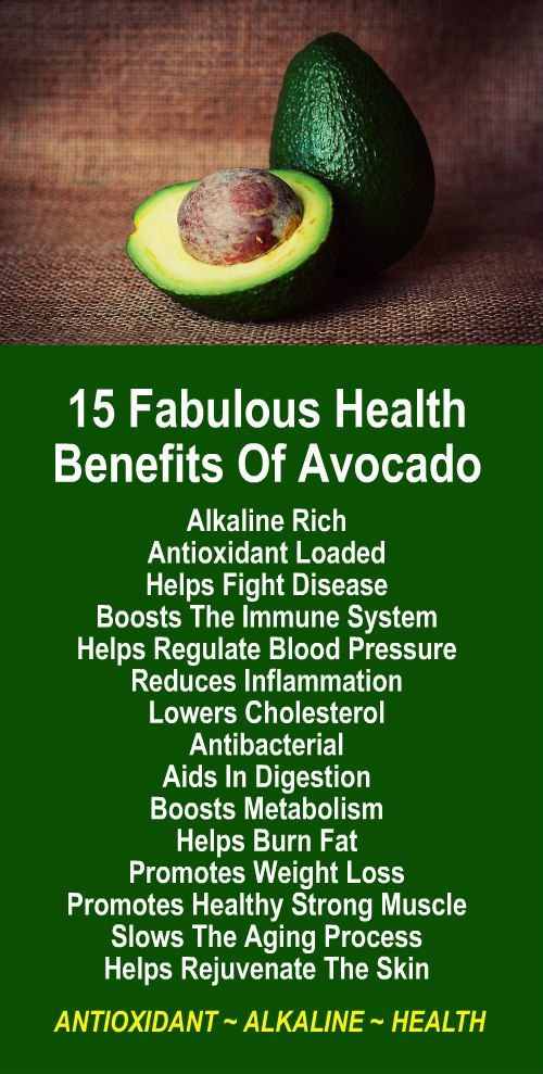 15 Fabulous Health Benefits of Avocao burn fat water
