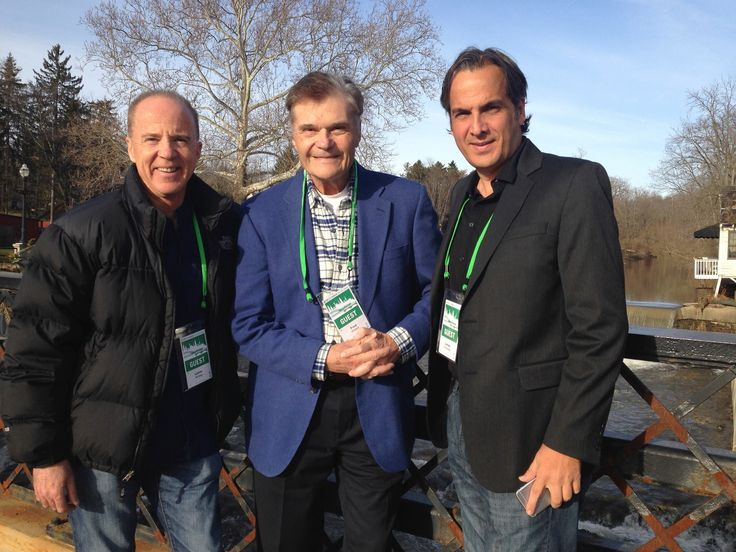ALL STARS Cleveland International Film Festival ... director ..Lance Kinsey  actor...Fred Willard ...producer..  James Portolese  March 27 2015  fb pic