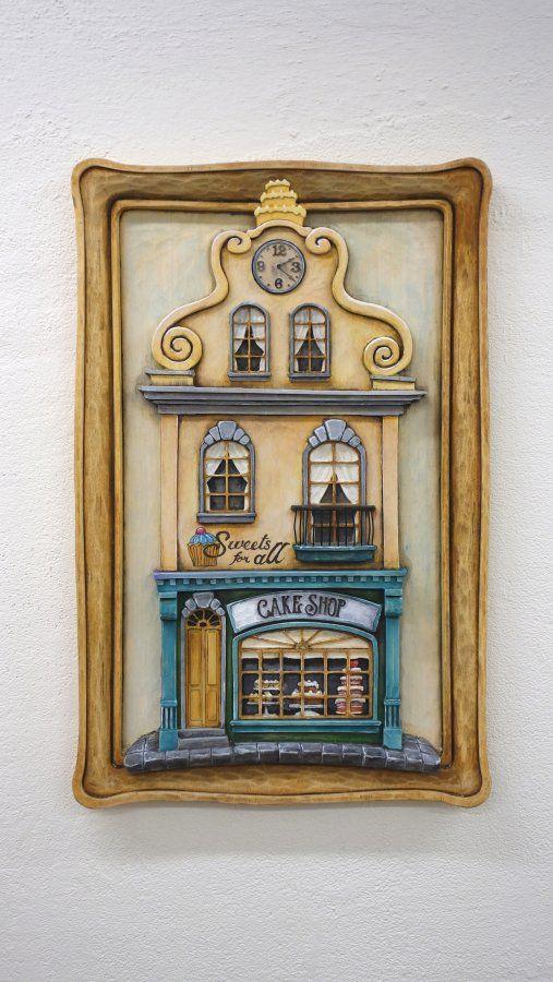 Cake Shop - Woodcarving ...  Řezbářství Hejkalíci - Tomáš Hejhal