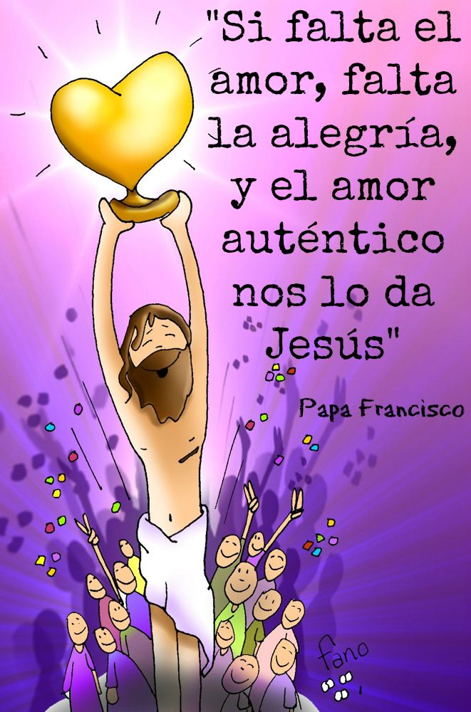 """Dice el #PapaFrancisco que Jesús """"nos ofrece su Palabra, que ilumina nuestro camino; nos da el Pan de vida, que nos sostiene en las fatigas de cada día."""""""