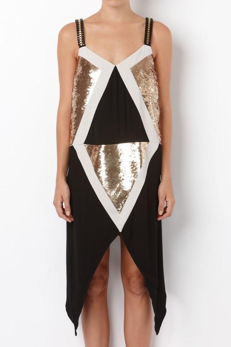 Sass n bide long dress mirrors