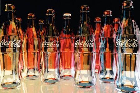 Coca-Cola - red eleven - plakat - 91,5x61 cm  Gdzie kupić? www.eplakaty.pl