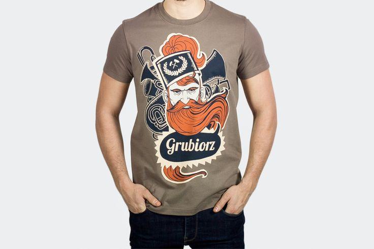 Koszulka Grubiorz » gryfnie