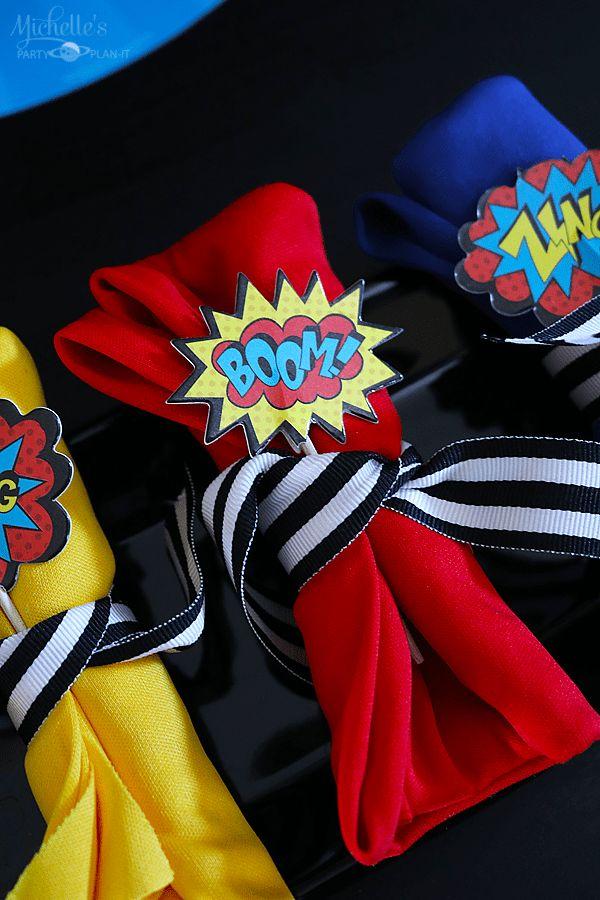 Best 25 Superhero Party Favors Ideas On Pinterest