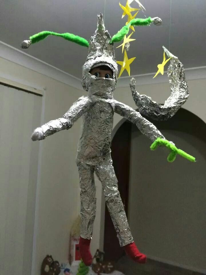 THE ELF ON THE SHELF~Astronaut elf.