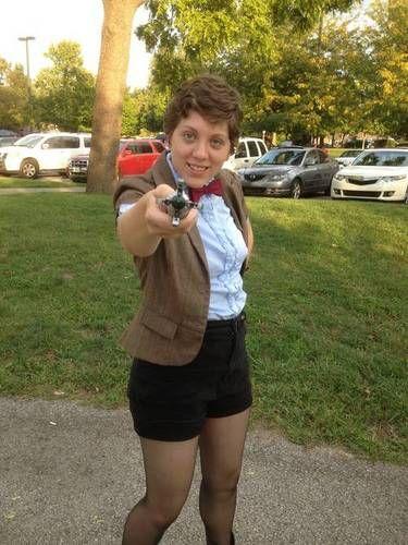 Fem! 11th Doctor Costume - CUTE!