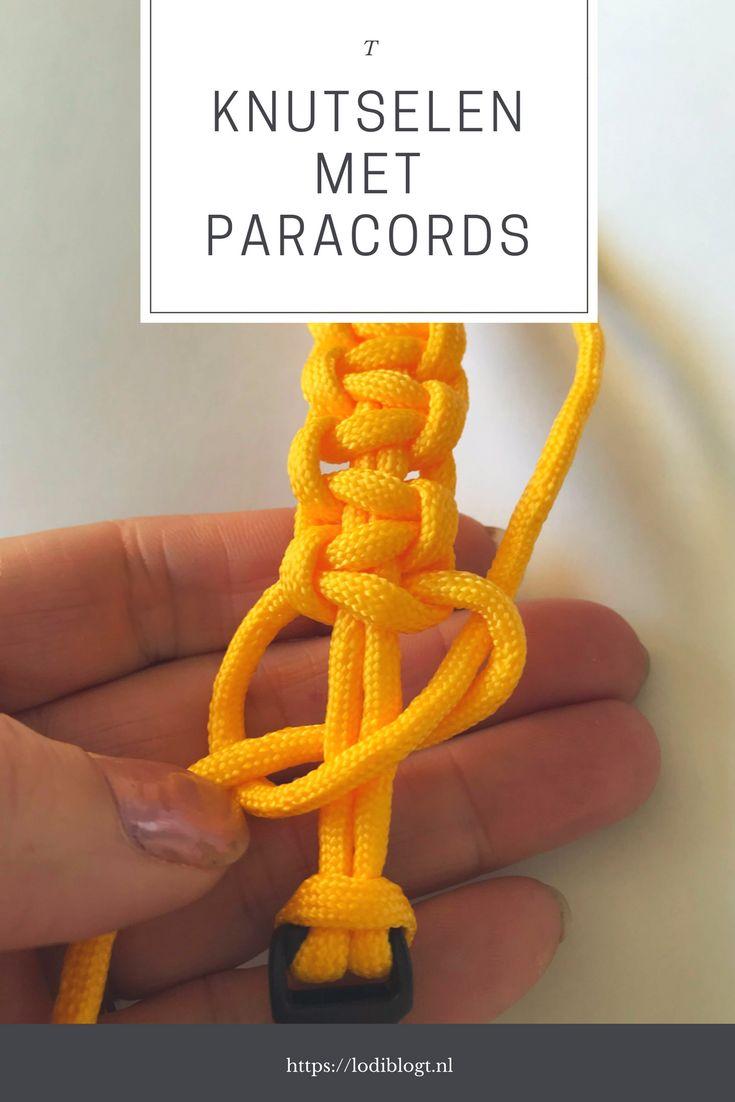 Knutselen met kinderen? Met deze stoere armbanden van paracords kan dit prima. Super leuk om zelf te maken.