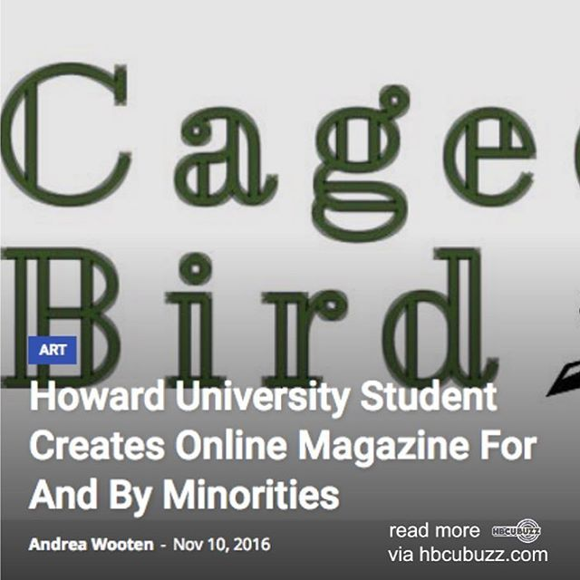 Howard University Student Creates Online Magazine For And By Minorities #HU #HBCUnews #HBCU #howardu #howarduniversity