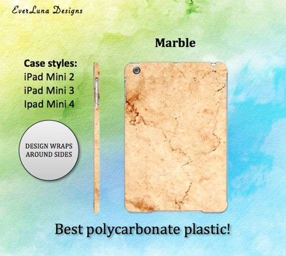 Marble 2 Ipad Mini Case Ipad Case Ipad mini Case by EverLunaStore
