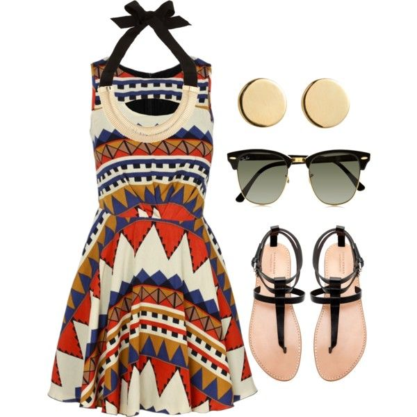 """Aztec Outfit"" by natihasi on Polyvore"