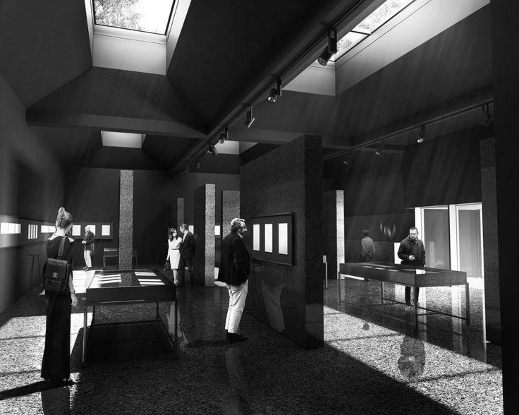 concept of Memorial Room | UGO Architecture