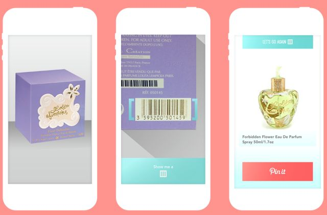LoveList For iPhone Is A Simple Product Scanner For Pinterest, Forget gift registries.