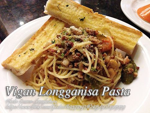 Vigan Longganisa Pasta