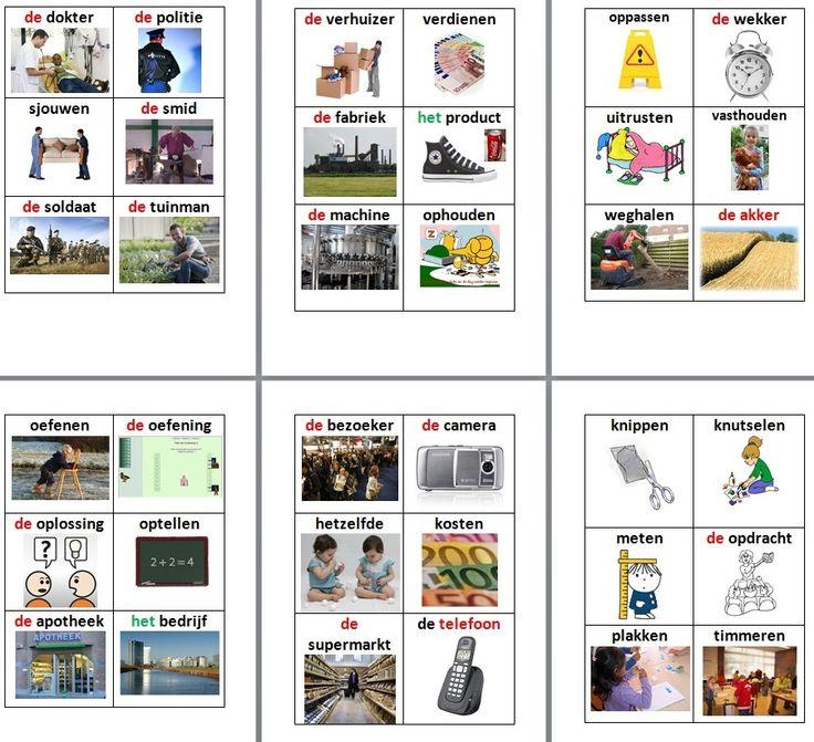 Taalactief groep 5 - woordkaartjes woordenschat - digischool (wel inloggen of gratis account aanmaken).