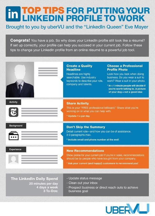 69 best LinkedIn Tips (General) images on Pinterest - linkedin resume tips