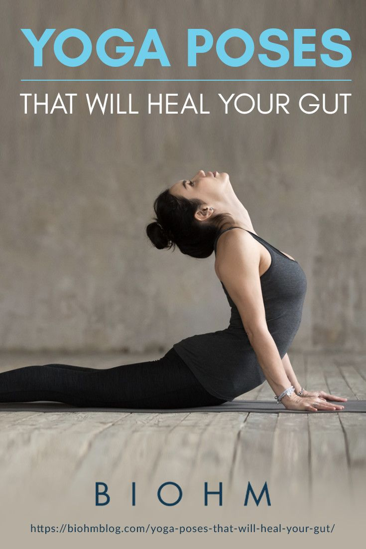 Yoga Poses That Will Heal Your Gut  Yoga poses, Improve gut
