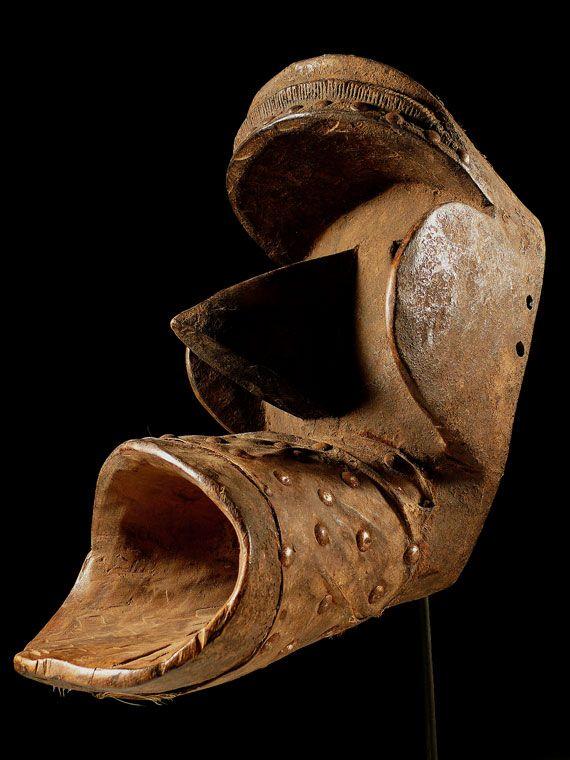 Maske der Kran / Elfenbeinküste - Côte d'Ivoire